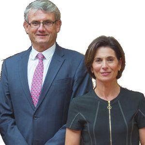 Photo of Everard Aspell and Antonella Aspell